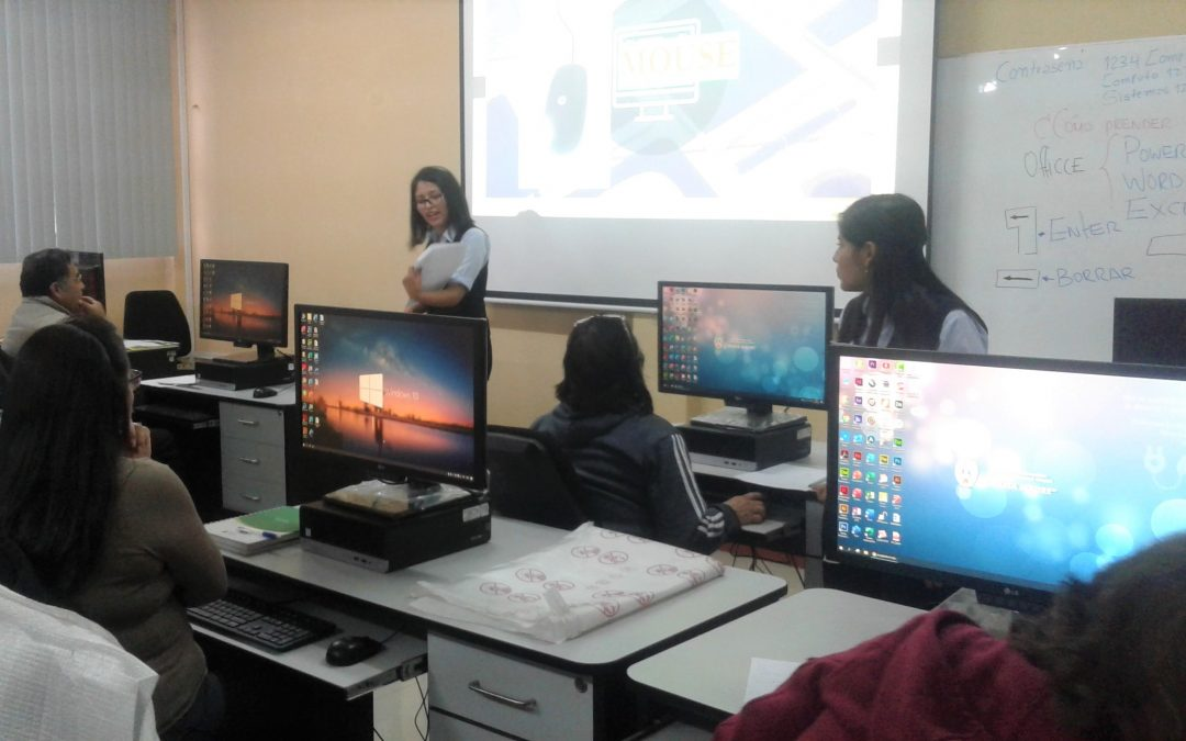 Programa de Informática para adultos mayores