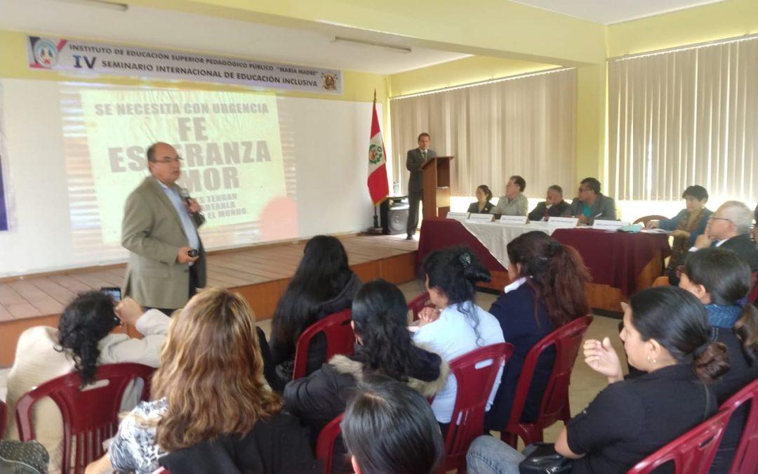 Culminó con éxito el IV Seminario Internacional en Educación Inclusiva