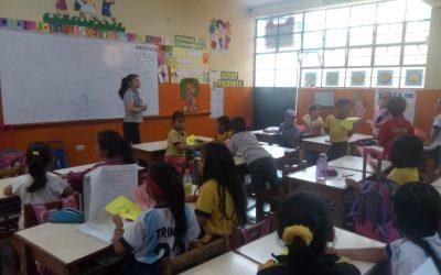 Nuestra estudiantes realizan práctica Preprofesionales
