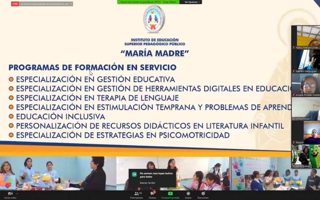Finaliza con éxito Webinar Seminario Virtual Nuevos Retos de la Educación Inicial