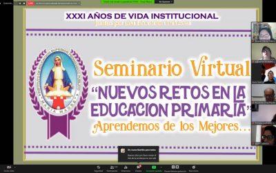 Éxito en el Webinar – Nuevos retos en la Educación Primaria
