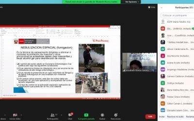 Capacitación Virtual – Medidas Preventivas Contra el Dengue, Chikungunya y Zika